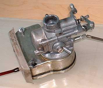 www smallframes com Smallframe Vespa carburettor rebuild