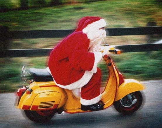 Happy Christmas Vespa Smallframe owners!